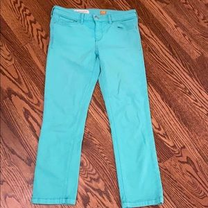 Anthropologie pilcro cropped jeans